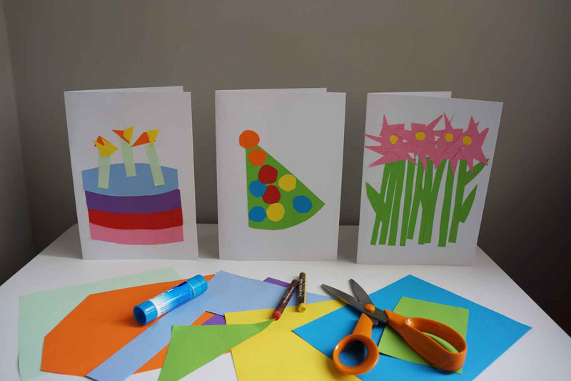 10 More Family Friendly Rainy Day Crafts – Birthday Card Crafts